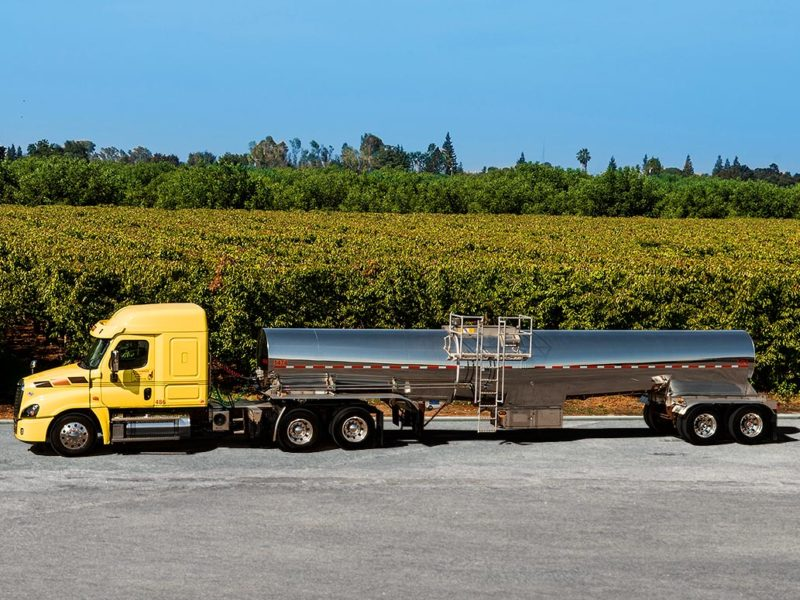 food grade liquid truck, trucking, fleet,