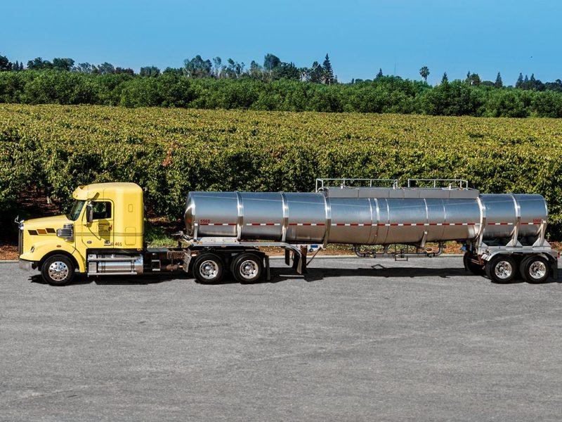food grade liquid, truck, fleet, trucking