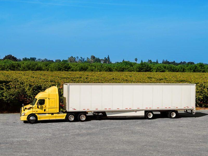 dry freight truck, trucking, food, fleet, wine